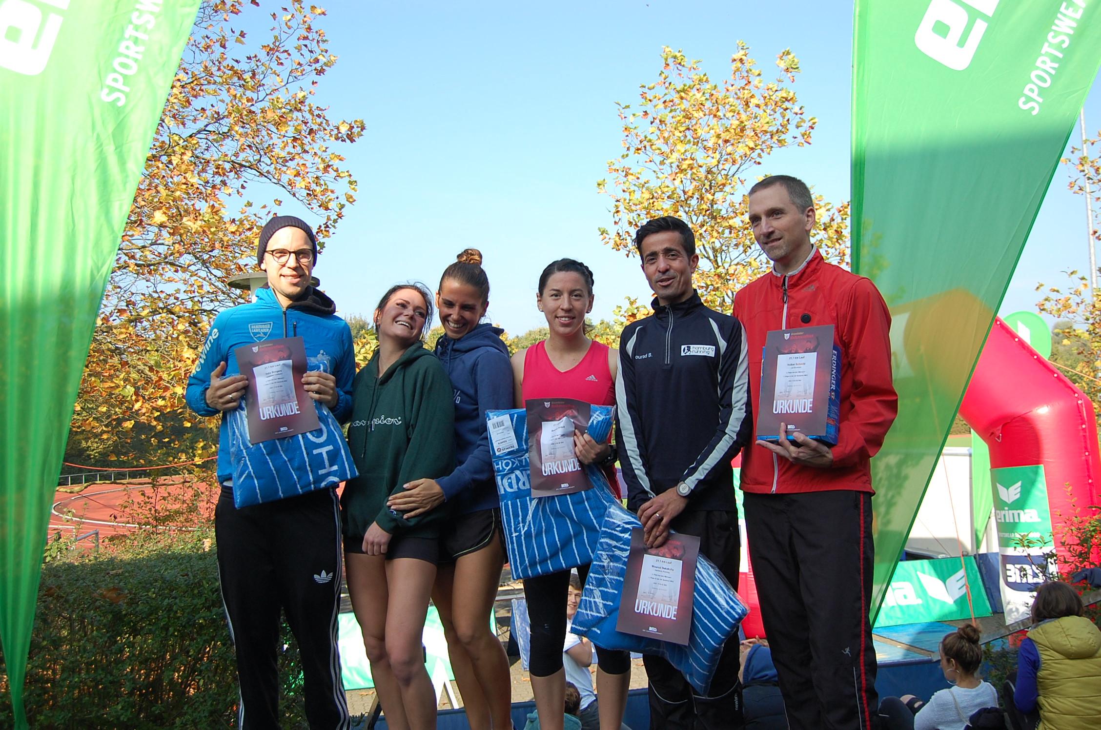 26. Bramfelder Halbmarathon: Siegerehrung