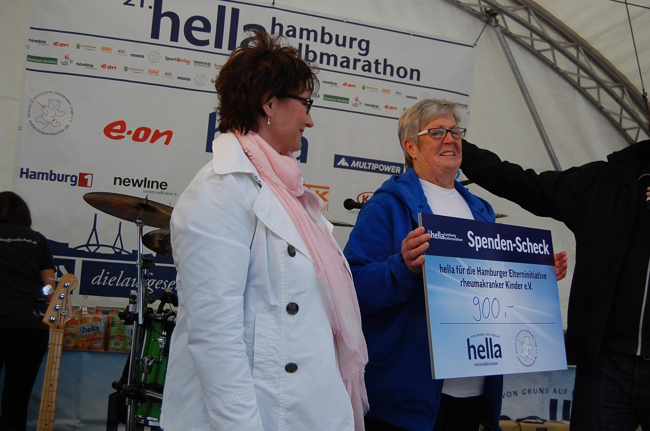 21. hella Halbmarathon: Siegerehrungen